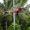 Аттракцион «Летающая трапеция» в парке развлечений KidzSole на Пхукете