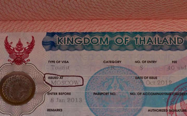 thai visa MSC