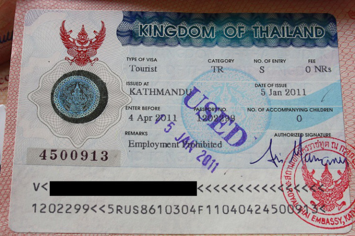 thai visa third country
