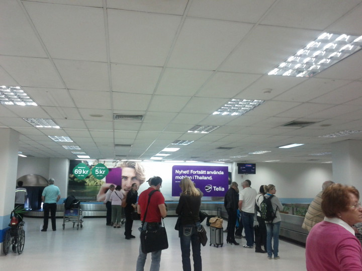 Phuket airport-arrivals