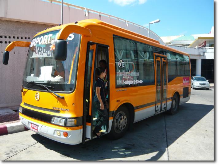 phuket airoport bus