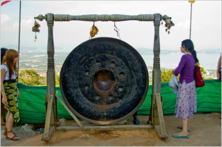 buddha gong