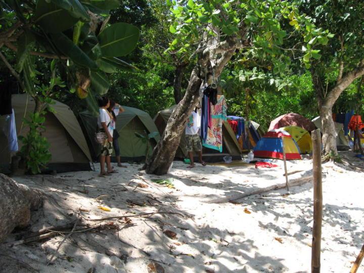 khao lak camping