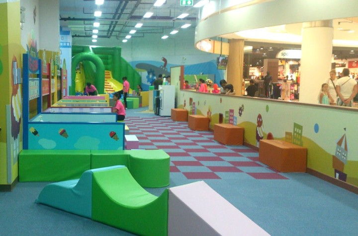 Playing zone in Kidzoona Phuket