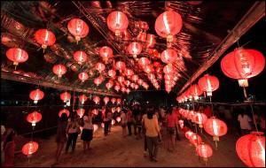 phuket new year lanterns